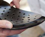 Lake Cycling's MX331 cyclocross shoe also features a vented, moldable carbon insole. © Cyclocross Magazine