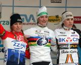 The Elite Women's podium in Lille ? Bart Hazen