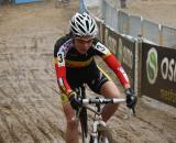 Sanne Cant represents Belgium in the front foursome  Dan Seaton