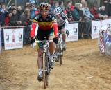 Sven Nys leads the way in the sandy sections ? Bart Hazen