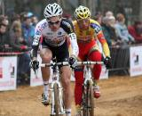 Niels Albert eventually joined Sven Vanthourenhout in pursuit ? Bart Hazen