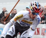 Zdenek Stybar was step for step with Nys  ? Bart Hazen