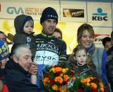 Vervecken enjoyed a special ceremony in his home town  Bart Hazen