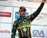 Sven Nys claims the top step in Lille ? Bart Hazen