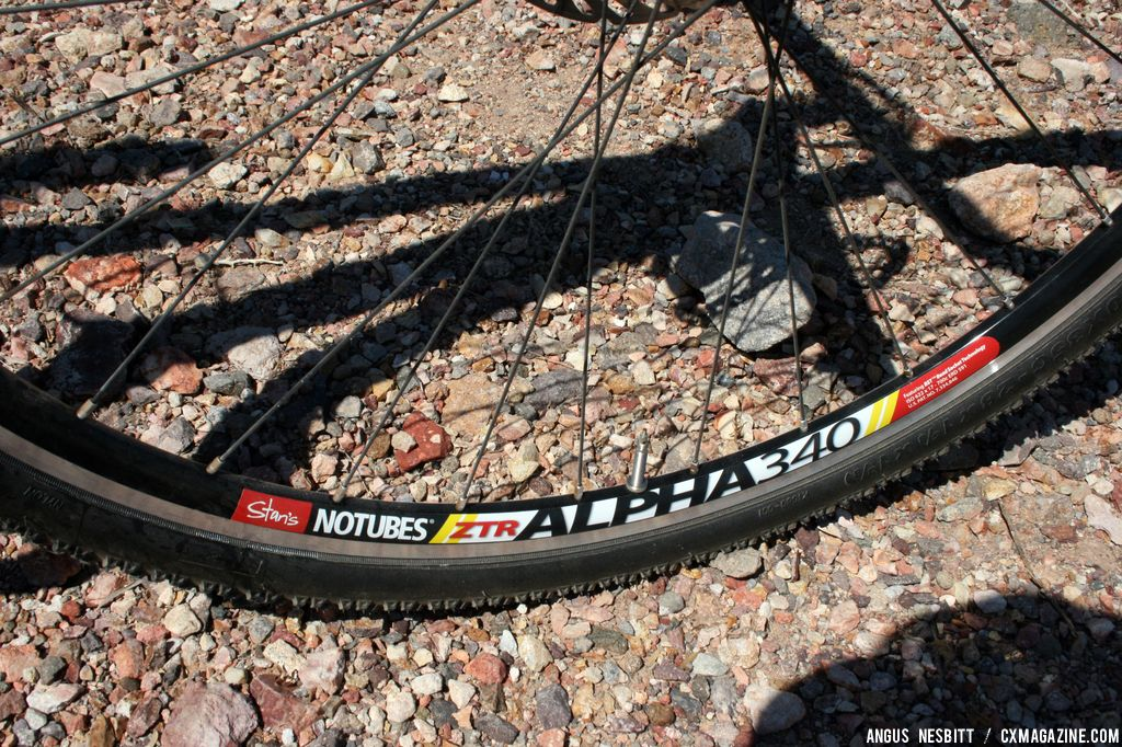 Alpha 340 Wheels. © Cyclocross Magazine