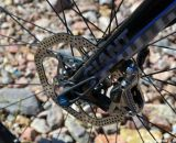 SRAM hydraulic disc brakes on the Liv/Giant Brava SLR. Interbike 2013 © Cyclocross Magazine