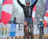 in the Masters Women 45-49 and 50-54 Hogan with the 45-49 win at the 2014 National Cyclocross Championships. © Steve Anderson