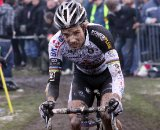 Niels Albert got his gap due to another Nys mechanical © Bart Hazen