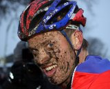 Lars Boom looks happy to be back to cyclocross © Bart Hazen