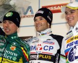 The podium: Nys - Albert - Stybar © Bart Hazen