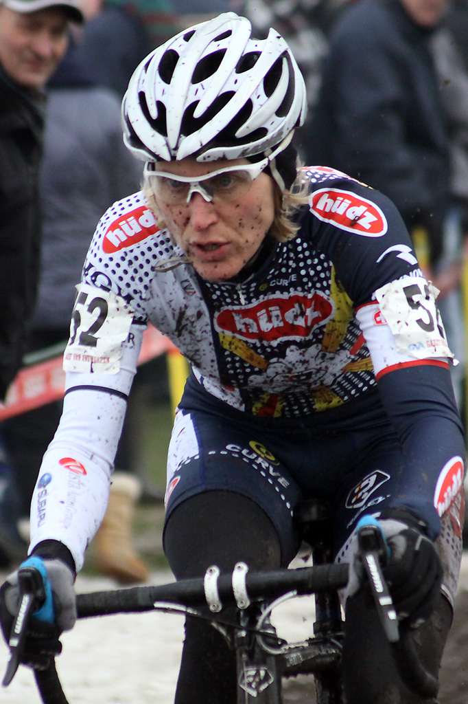 Sue Butler had a strong ride on her way to 11th © Bart Hazen