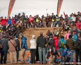 Full crowds in U23 2014 Cyclocross National Championships. © Steve Anderson