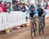 Owen in U23 2014 Cyclocross National Championships. © Steve Anderson