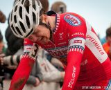 Happy to be finished in U23 2014 Cyclocross National Championships. © Steve Anderson