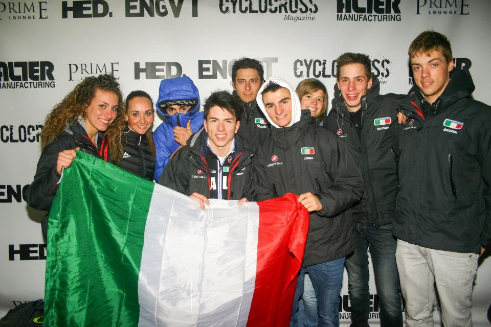 Italian National team at the Louisville 2013 Foam Party. © William Huston