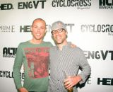 Tim Johnson and Sven Nys at the Louisville 2013 Foam Party. © William Huston