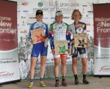 Pro women's podium, day 2© Amy Dykema