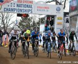 The first ever Collegiate Relay at the 2014 National Cyclocross Championships. © Steve Anderson