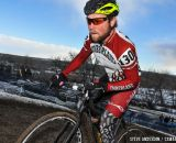 Cumberland in the first ever Collegiate Relay at the 2014 National Cyclocross Championships. © Steve Anderson
