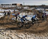 Lap 1 of the 2014 Masters 45-49 Cyclocross National Championships. © Steve Anderson