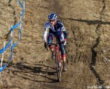 Nicole Thiemann raced well early and stayed on the podium. © Brian Nelson