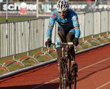Sven Nys gave everything to hang with Stybar, but settled for silver