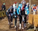 Stybar leads Meeusen and Chainel in the early goings