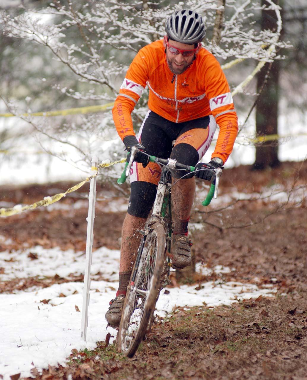Although a lot of riders were enjoying themselves inspite of the conditions, or because of them? ? Bart Nave