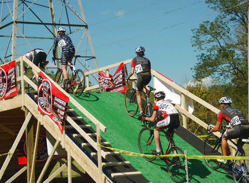 The flyover was just like the one at Hoogerheide worlds. ?Bart Nave