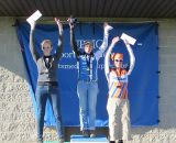 Shogren tops the Womens Open podium. © Keith Hower