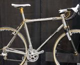 Mosaic builds its frames in Boulder, Colorado, in titanium or steel. Cyclocross bikes at Nahbs 2012. ©Cyclocross Magazine
