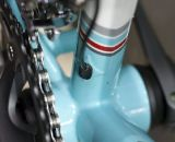 Mosaic features internal Di2 wiring. ©Cyclocross Magazine