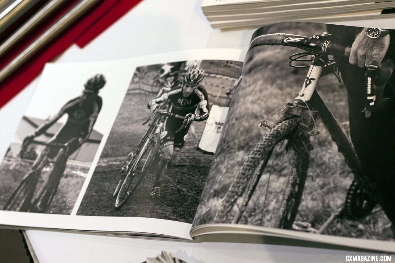 Nick Czerula was showing of his book at NAHBS 2012 documenting Richard Sachs\' work. ©Cyclocross Magazine