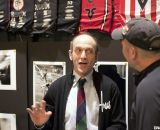 Richard Sachs talks with Cyclocross Magazine at NAHBS 2012. ©Cyclocross Magazine