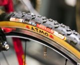 ATMO is Sach's slogan and can be found on all of his wheels, including these Challenge Limus-dressed Cole wheels. ©Cyclocross Magazine