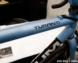 The Turanti is Baum's fully butted titanium cyclocross bike with butted steel and straight gauge options available. © Kevin White