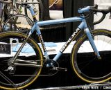 Baum Bicycles flagship titanium cyclocros bike, the Turanti, was on display at the 2012 NAHBS. © Kevin White