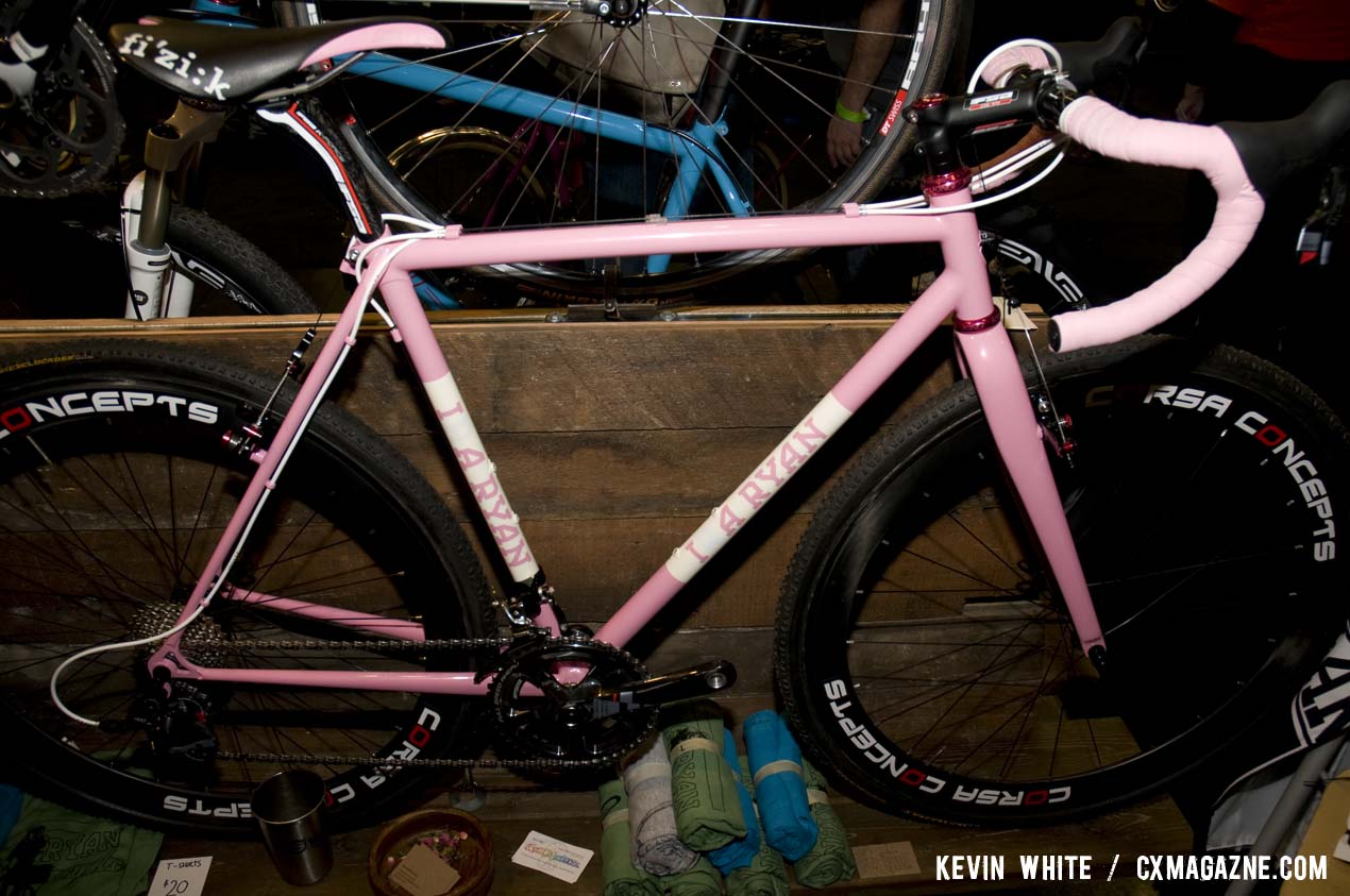 Ira Ryan Cycles, based in Portland, Oregon has been building custom frames since 2005. © Kevin White