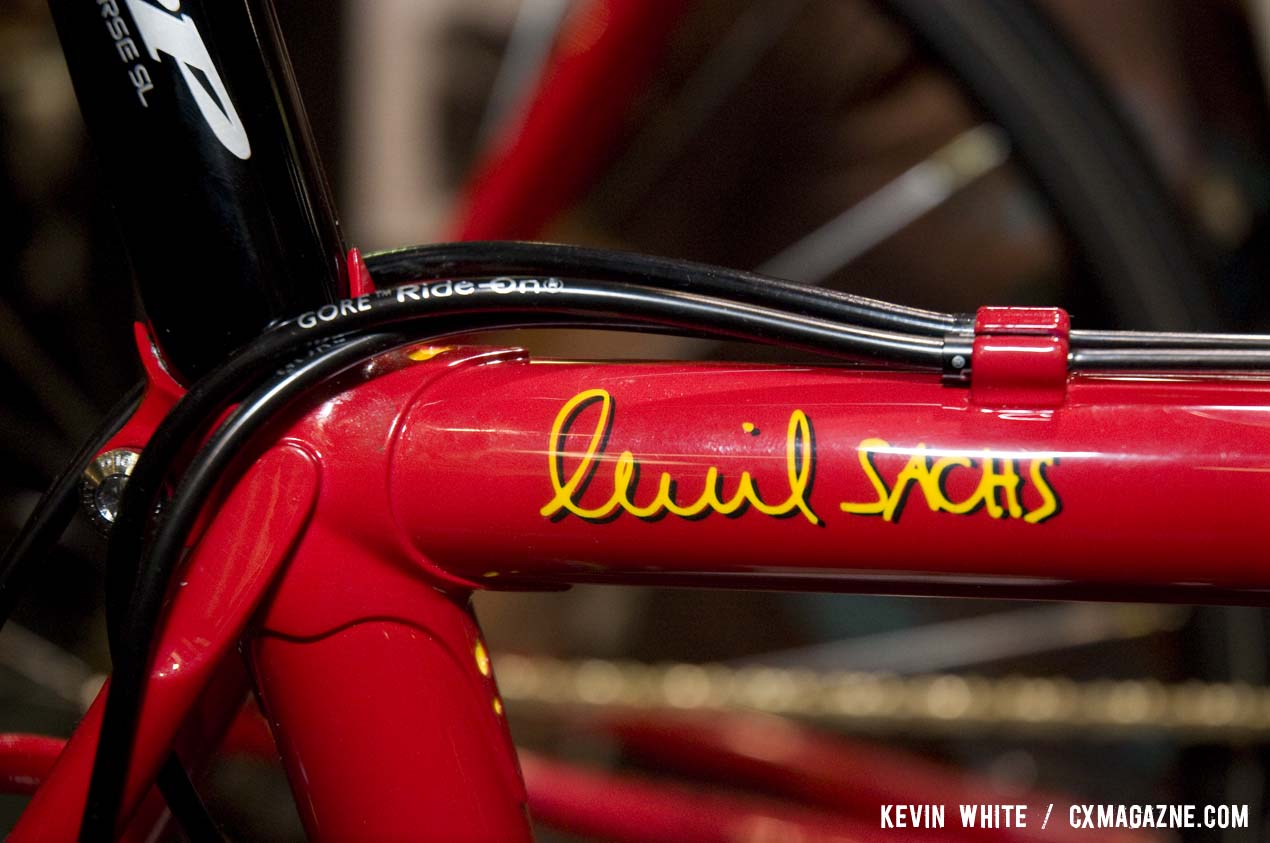 PegoRichie tubing is used for Sachs\' cyclocross bikes. © Kevin White