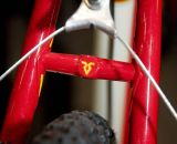 The Richard Sachs' logo is carried on the seat stay bridge. © Kevin White
