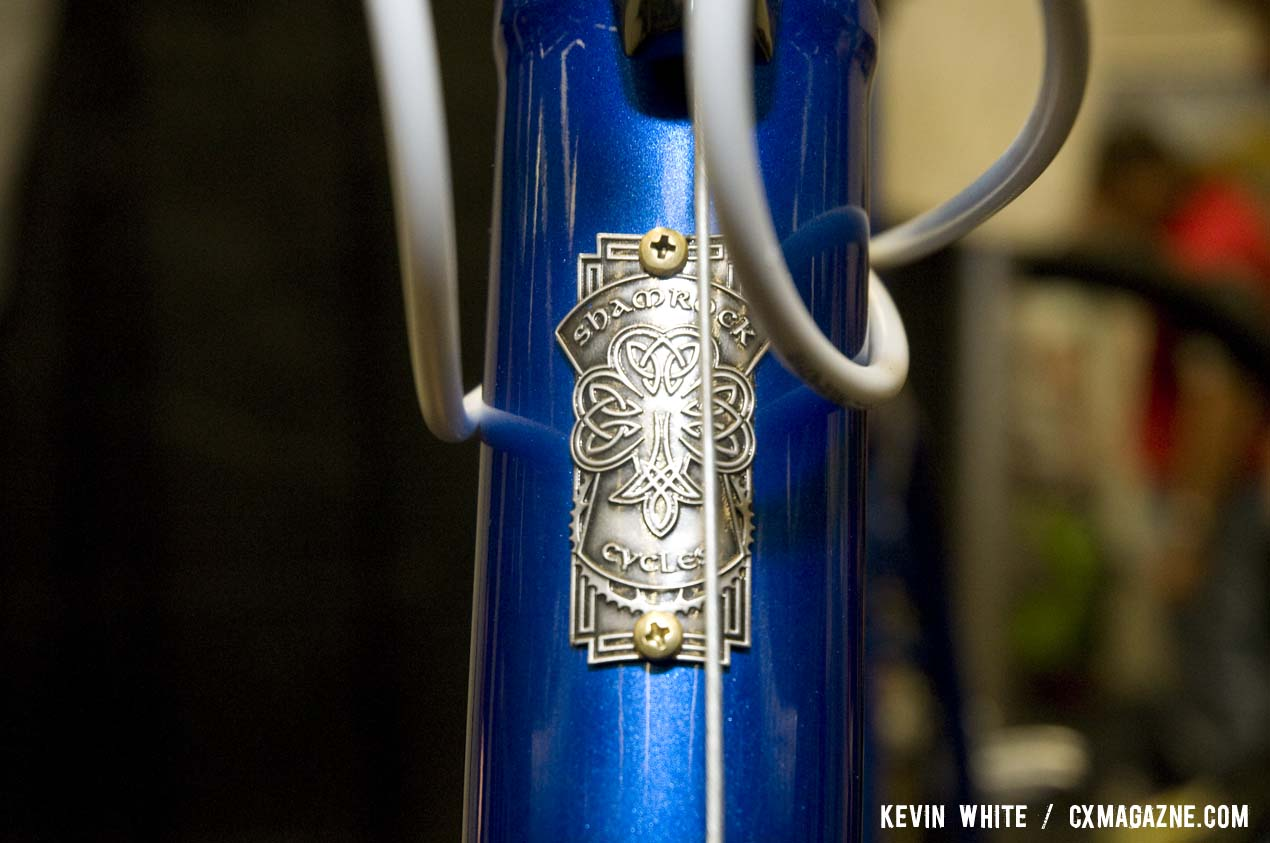 Shamrock Cycles are made in Indianapolis, Indiana by Tim O\'Donnell. © Kevin White