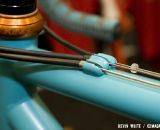 SyCip's Cross Dresser cyclocross frame features routing on top of the top tube. © Kevin White