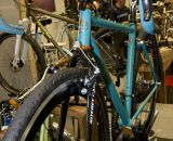 The SyCip Cross Dresser cyclocross bike featured at this year's NAHBS will be ridden by none other then Jeremy SyCip. © Kevin White