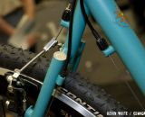 Sycip's distinctive seat stay junction, complete with a unique dime-capped finish. © Kevin White