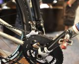 Small touches, like the extra sleeve around the derailleur mount, show of William's attention to detail  © Greg Klingsporn