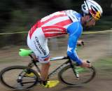 Tim Johnson's skinsuit, side view. Surf City Finale, Aptos High, 2010 ? Cyclocross Magazine