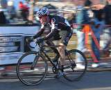 Page would never make it back to Johnson after some early problems. ? Cyclocross Magazine