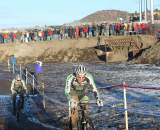 Powers and Driscoll were in place in case Johnson faltered. © Cyclocross Magazine