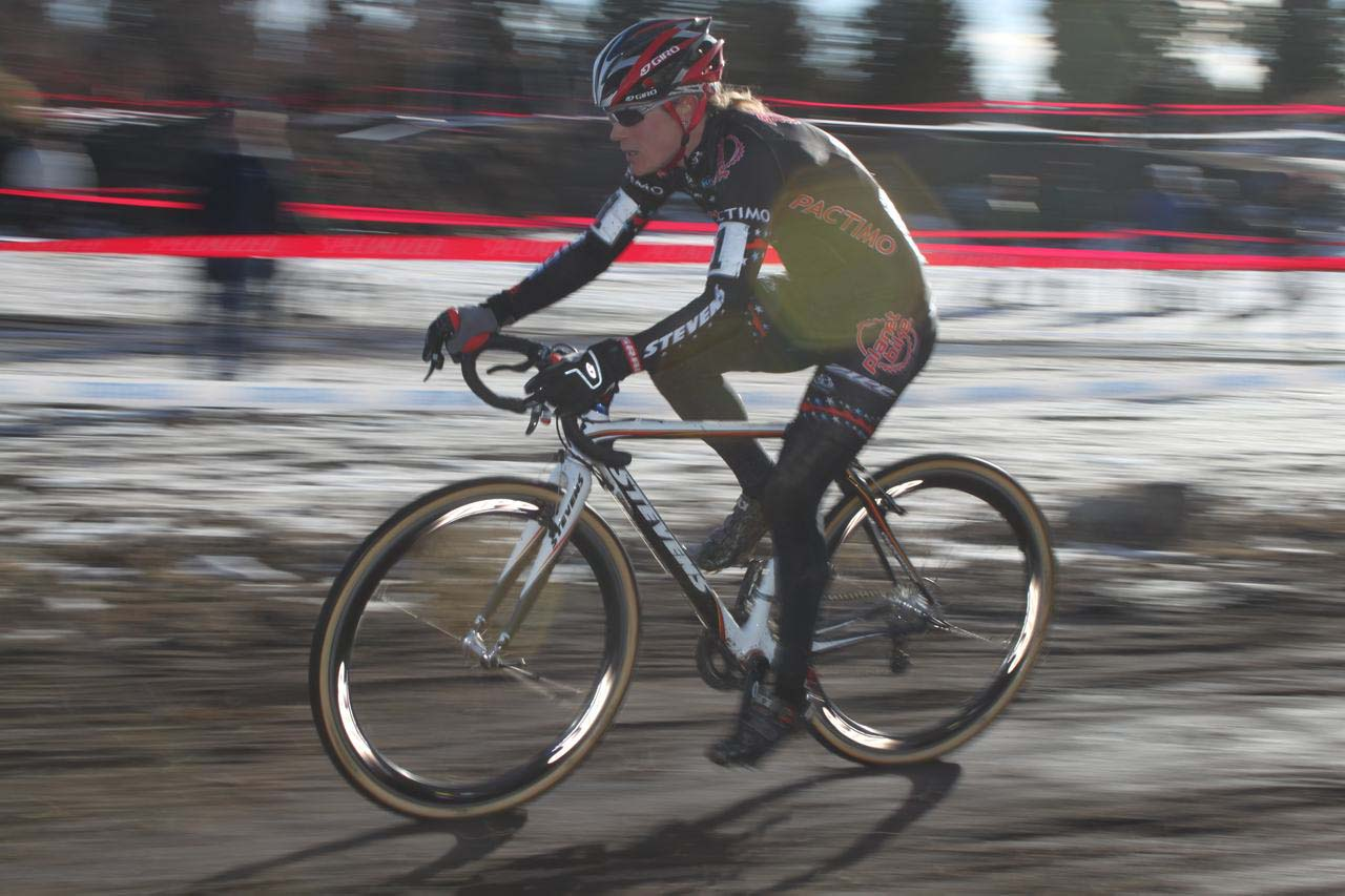 Katie Compton was gone from the gun. ? Cyclocross Magazine