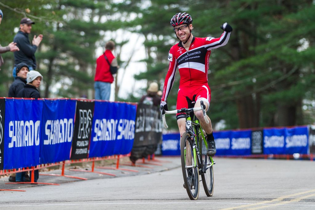Milne with his second victory this weekend, edging into second overall in the series. © Todd Prekaski